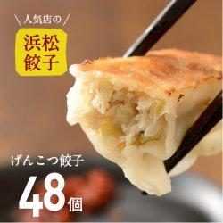 【人気店の浜松餃子】パンチのある肉感!げんこつ餃子【48個】ご家庭用