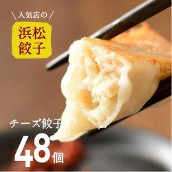 【人気店の浜松餃子】とろ〜りとろけるチーズ餃子【48個】ご家庭用