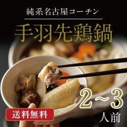 純系名古屋コーチン手羽先鶏鍋【3〜4人前】