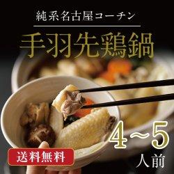 純系名古屋コーチン手羽先鶏鍋【4〜5人前】