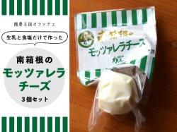 南箱根のモッツァレラチーズ 3個セット【送料無料】