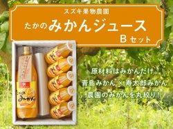 たかのみかんジュースBセット 1L瓶+180ml×5本【送料無料】
