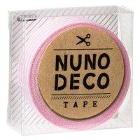 ヌノデコテープ ももいろしましま