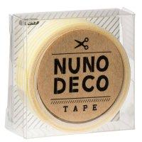 ヌノデコテープ きいろしましま