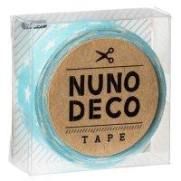 ヌノデコテープ みずいろスター
