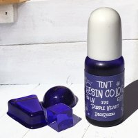 デコレジーナ 樹脂用着色剤 透明レジンカラーTINT 10g パープルベルベット
