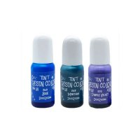 デコレジーナ 樹脂用着色剤 透明レジンカラーTINT 10g ブルー系3色セット