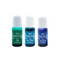 デコレジーナ 樹脂用着色剤 透明レジンカラーTINT 10g グリーン系3色セット