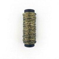 Wire Lab 和紙ワイヤー黒金色 20m巻