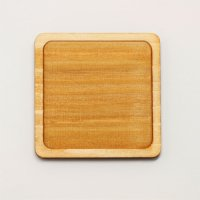 木製ミニチュアパーツ WP-003 正方形皿A M 1個入