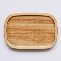 木製ミニチュアパーツ WP-013 四角皿C L 1個入