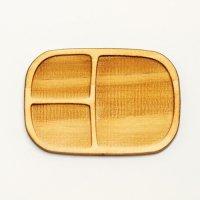 木製ミニチュアパーツ WP-020 四角皿E M 1個入