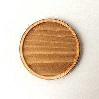 木製ミニチュアパーツ WP-024 丸皿C M 1個入