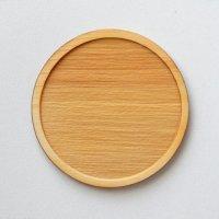 木製ミニチュアパーツ WP-025 丸皿C L 1個入