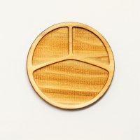 木製ミニチュアパーツ WP-028 丸皿F M 1個入