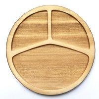 木製ミニチュアパーツ WP-029 丸皿F L 1個入