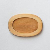 木製ミニチュアパーツ WP-036 楕円皿D M 1個入