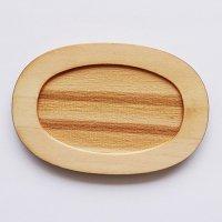 木製ミニチュアパーツ WP-037 楕円皿D L 1個入