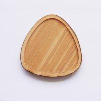 木製ミニチュアパーツ WP-039 三角皿A M 1個入