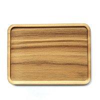 木製ミニチュアパーツ WP-047 トレー 長方形A M 1個入