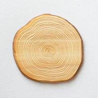 木製ミニチュアパーツ WP-082 カッティングボード丸太 L 1個入