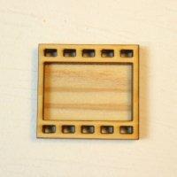 木製レジンフレーム WP-116 フィルム 土台付きM 1個入