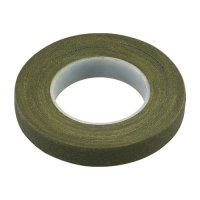フラワーテープ12.5mm オリーブグリーン
