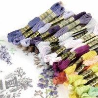 DMC 25番糸 Art. 117#25 色番号3801〜3866