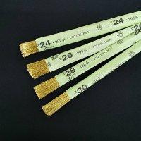 カラーワイヤー72cm  ♯28 ゴールド 200本入