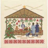刺しゅうキット K287 クリスマスマーケット