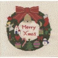 刺しゅうキット K293 メリークリスマス