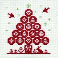 刺しゅうキット K297 クリスマスツリー