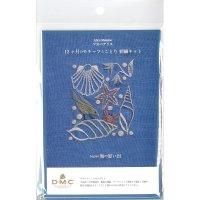 マカベアリス 12ヶ月のモチーフとことり 刺繍キット「August 海の思い出」