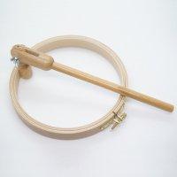 クランプ固定式刺しゅう枠18.5cm