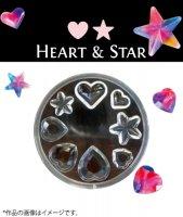 レジンモールド RM-6 HEART&STAR