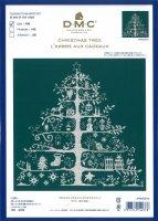 DMC クロスステッチ刺しゅうキット クリスマスツリー(グリーン)