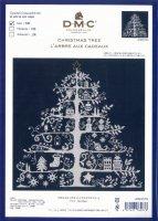 DMC クロスステッチ刺しゅうキット クリスマスツリー(ネイビー)