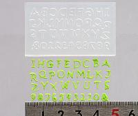 ソフトモールド T-734 アルファベット大文字Sサイズ
