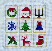 刺しゅうキット K239 Christmas day