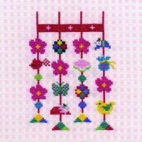 刺しゅうキット K248 花飾り