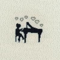 刺しゅうキット K243 Piano