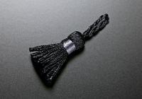 ミニタッセル 014 ブラック×グレー