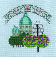 刺しゅうキット K257 花のある街角シリーズ�