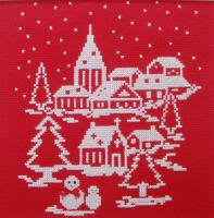 刺しゅうキット K207 White Christmas to you!