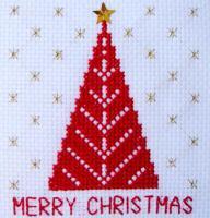 刺しゅうキット K211 クリスマスツリー