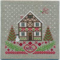 刺しゅうキット K264 木組の家のクリスマス