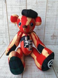 【B-type/PUNK】ANARCHY BEAR(25cmテディベア)