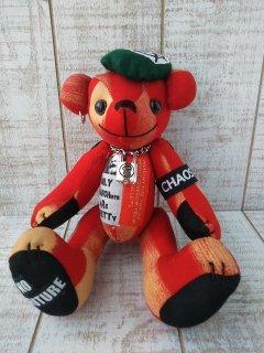【B-type】ANARCHY BEAR/Red(25cmテディベア)