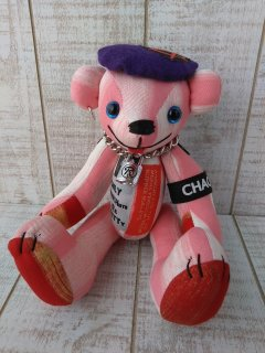 【B-type】ANARCHY BEAR/Pink(25cmテディベア)