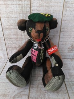 【B-type】ANARCHY BEAR/Black(25cmテディベア)